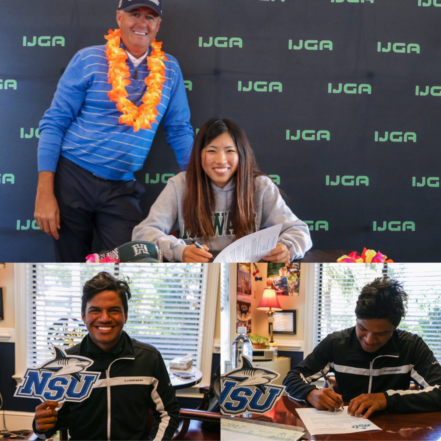 IJGA Student-Athlete Haruka Shintani Signs NCAA National Letters of Intent