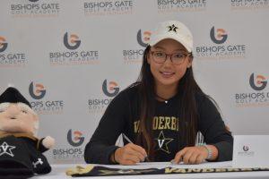 junior golf academy college signing