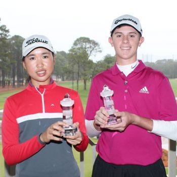 Siyan Chen Junior Golf Academy win
