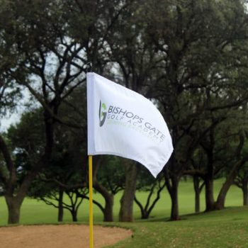 bishops gate golf academy flag
