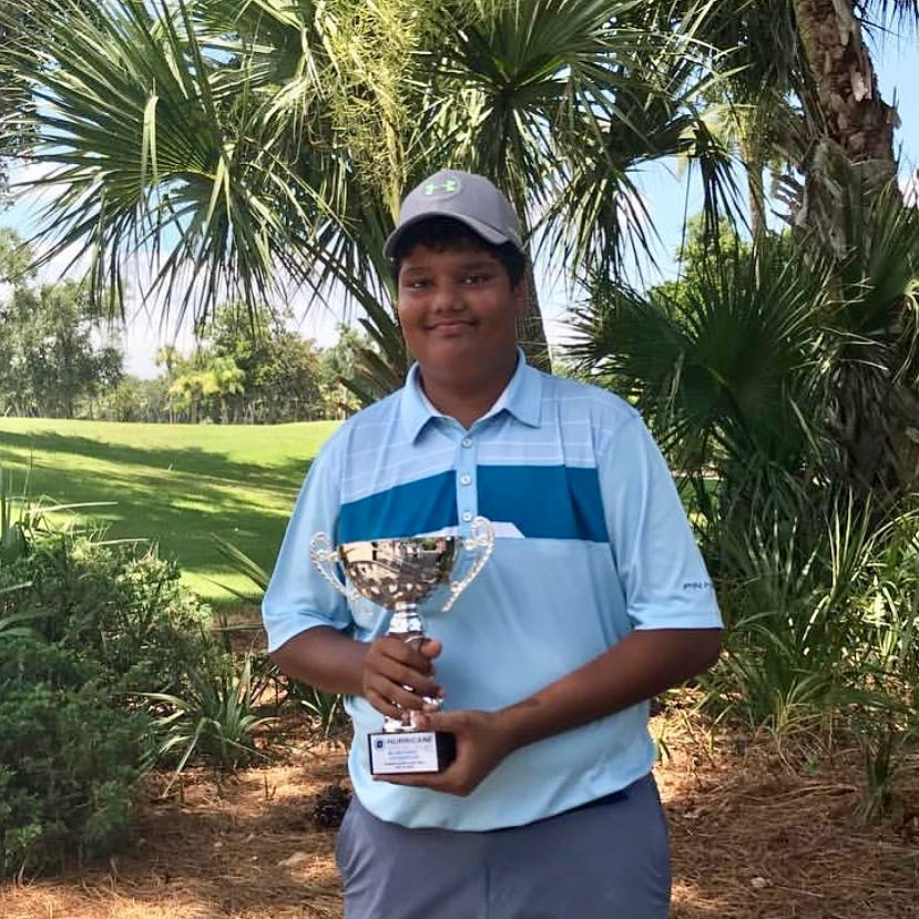 IJGA Student-Athlete Gautam Potdukhe takes 1st-place at the Coastal Carolina Junior Open on Hilton Head Island