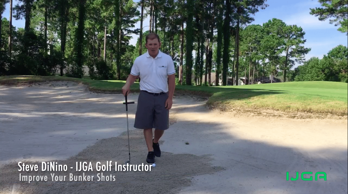 Bunker Shot Tips by IJGA Coach Steve DiNino