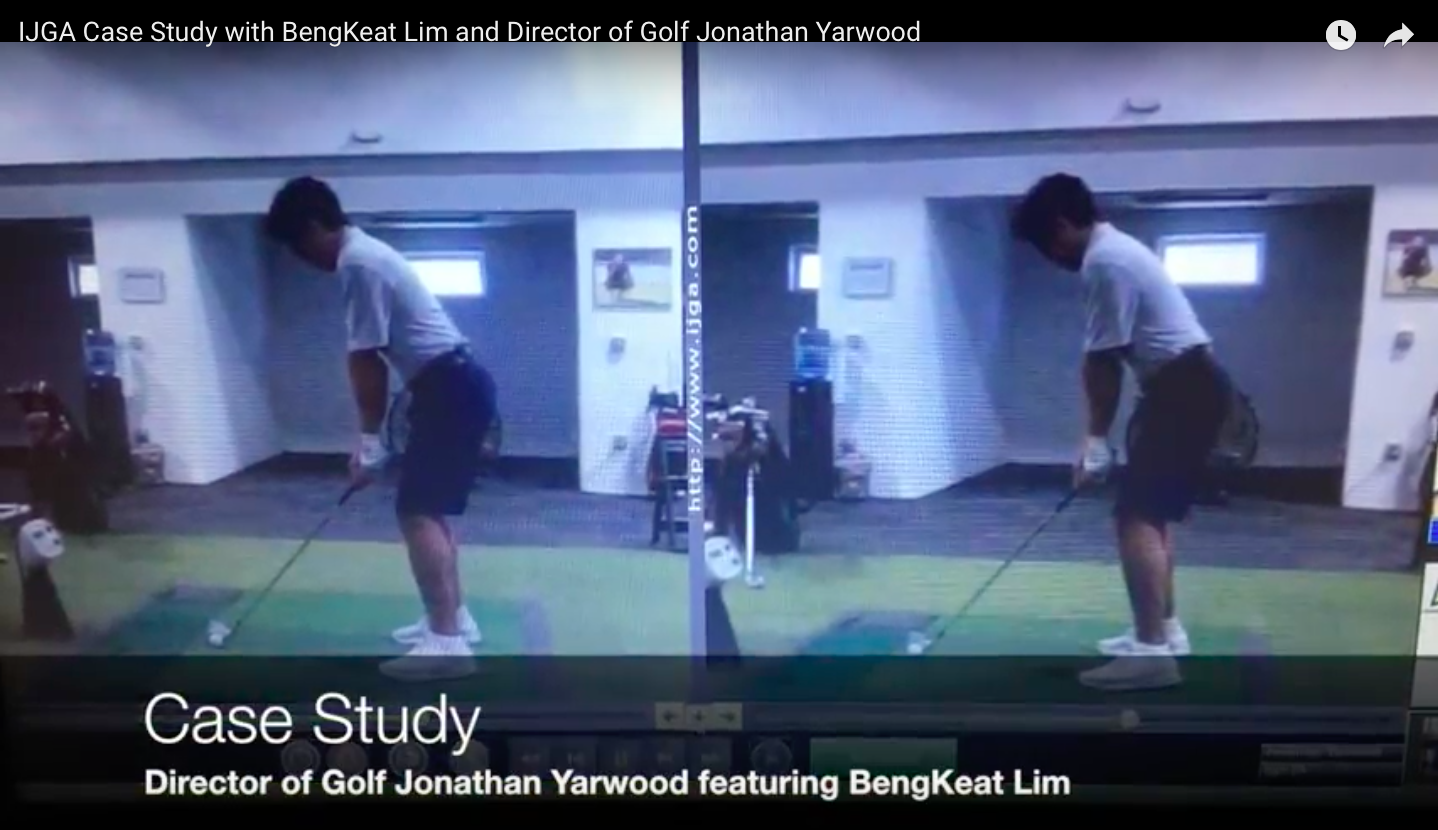 IJGA Case Study with BengKeat Lim and Director of Golf Jonathan Yarwood