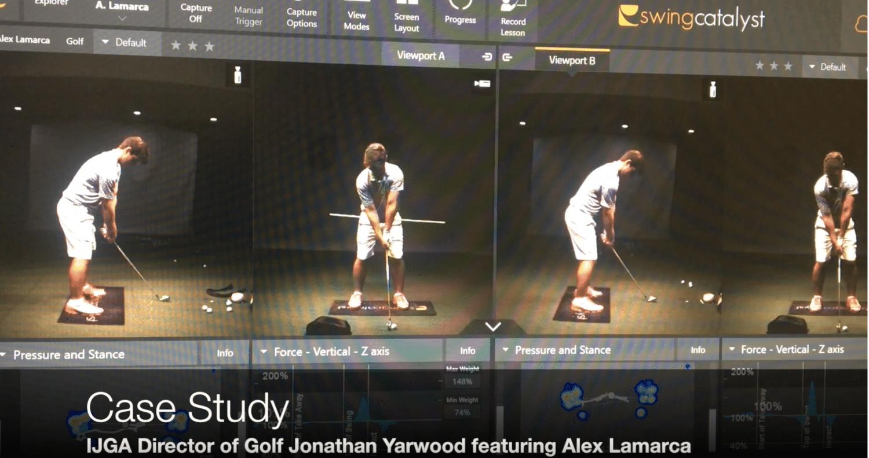 Case Study with IJGA Director of Golf Jonathan Yarwood and Student-Athlete Alex Lamarca