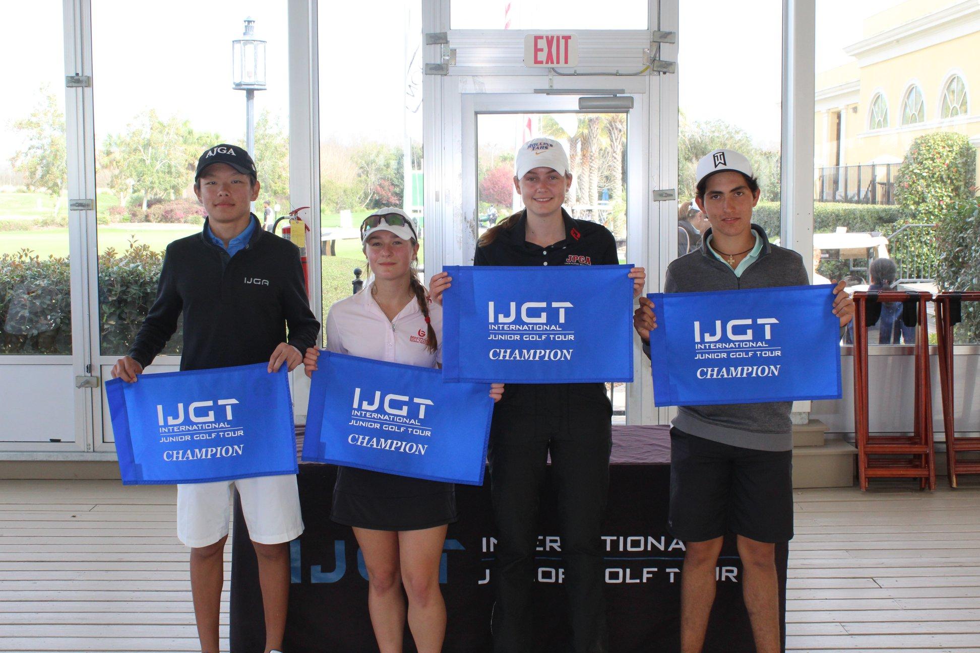 Jantai Malataev Wins IJGT Faldo Series Georgia Championship, U16