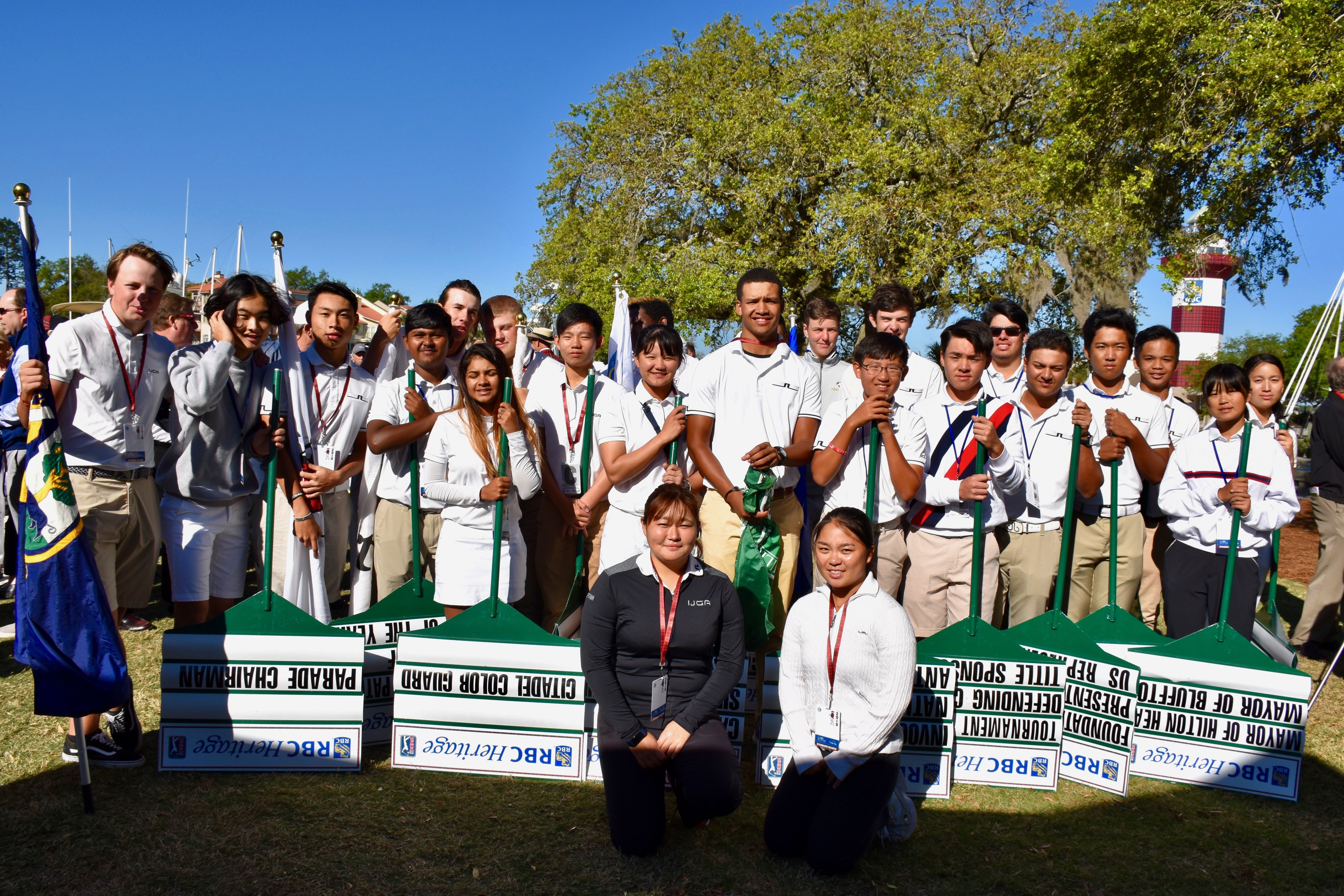 IJGA Student-Athletes Participate in the RBC Heritage Presented by Boeing