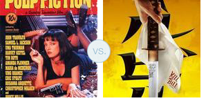 Pulp fiction vs kill bill