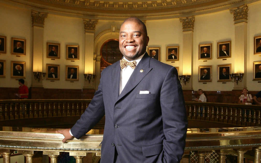 Terrance Carroll Brings Pastoral Care to the Statehouse