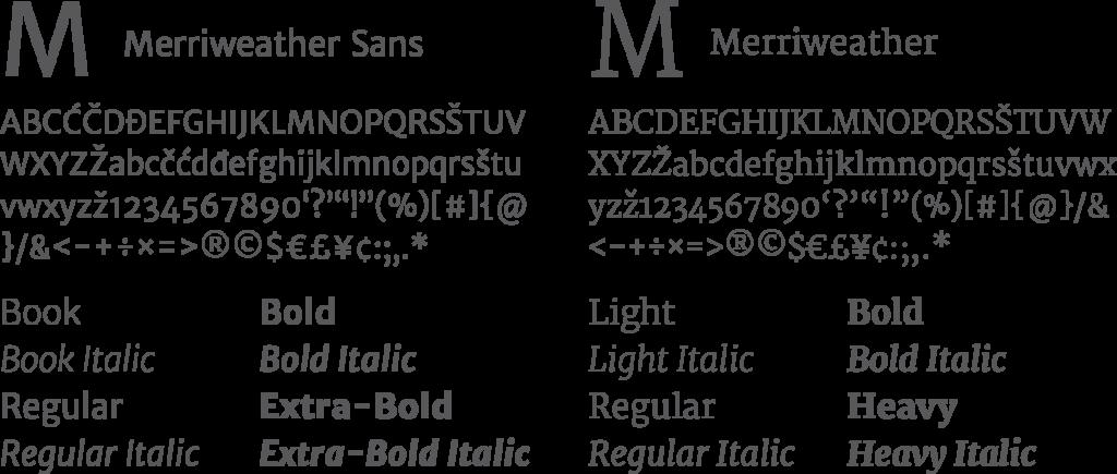 Iliff fonts