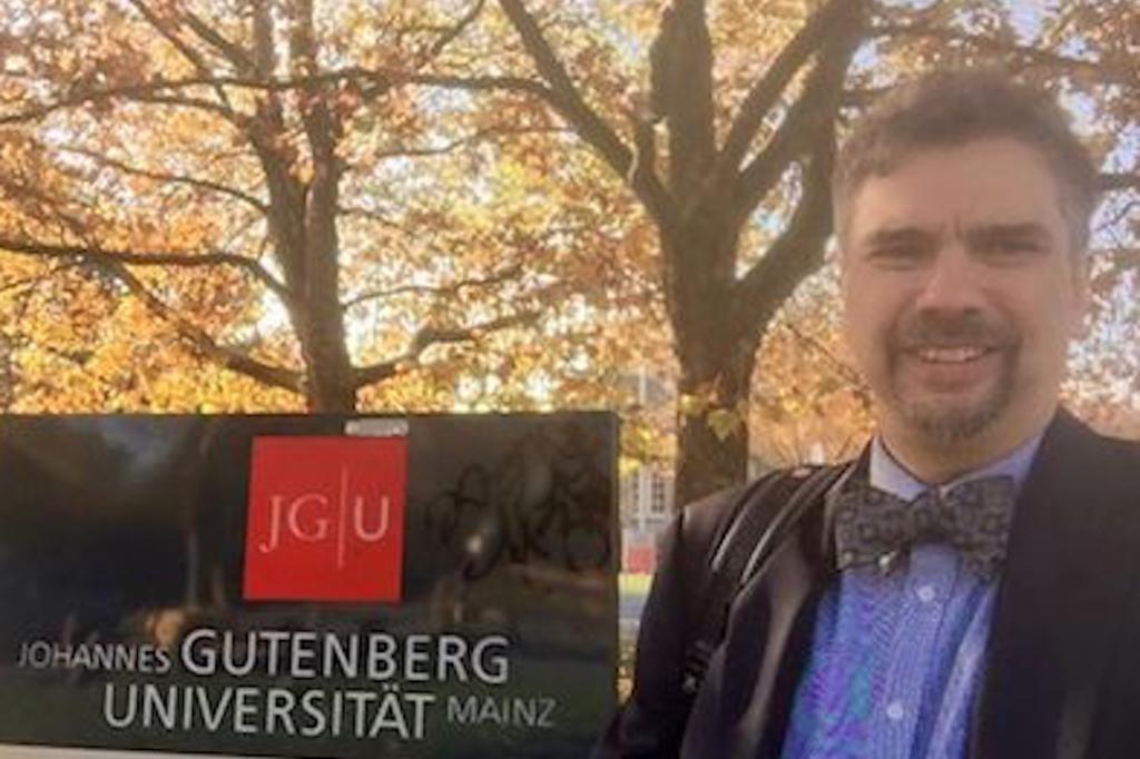 Faculty on the Road: Miguel De La Torre in Germany