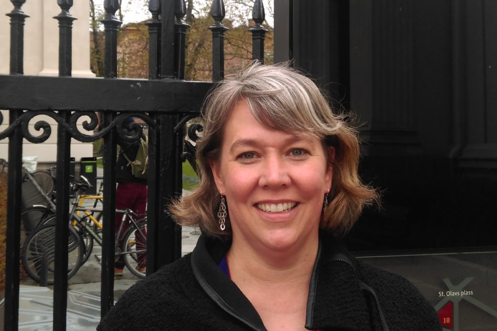Faculty on the Road: Katherine Turpin in Norway
