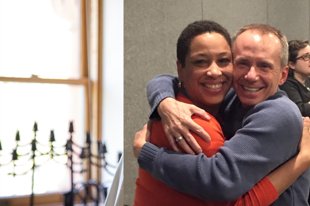Iliff Feels Warm Love from JOURNEY students Dee Torell and Larry Watchorn: Orlando to Denver