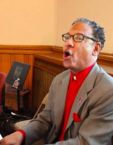 Daryl Walker Singing in chapel