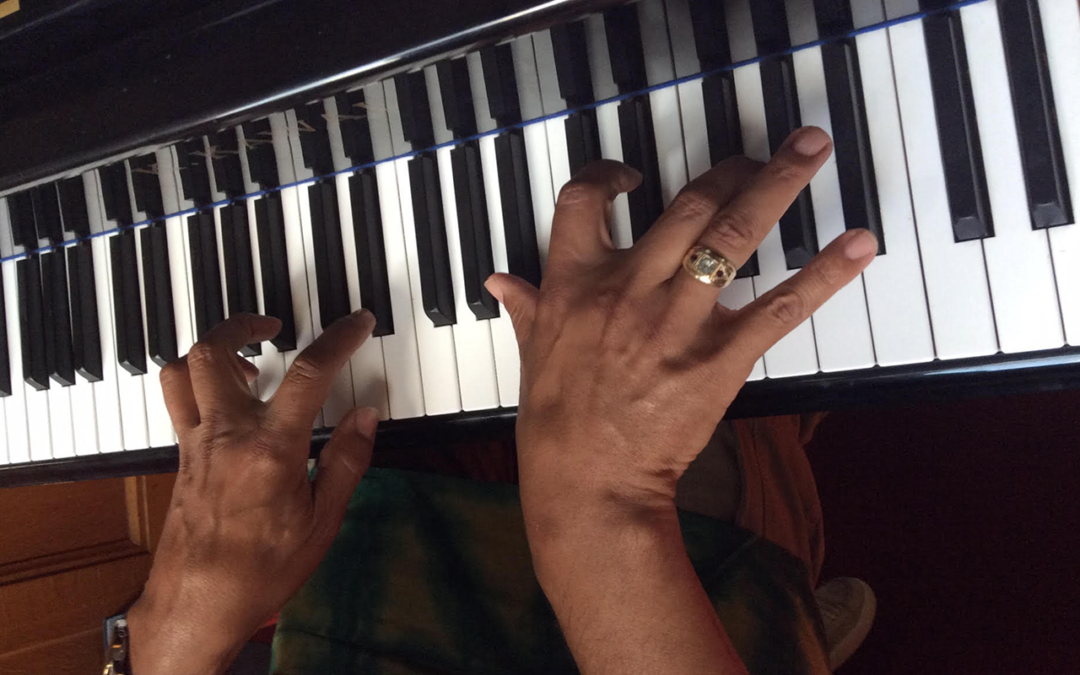 Student Daryl Walker is Building Up a New World through Music