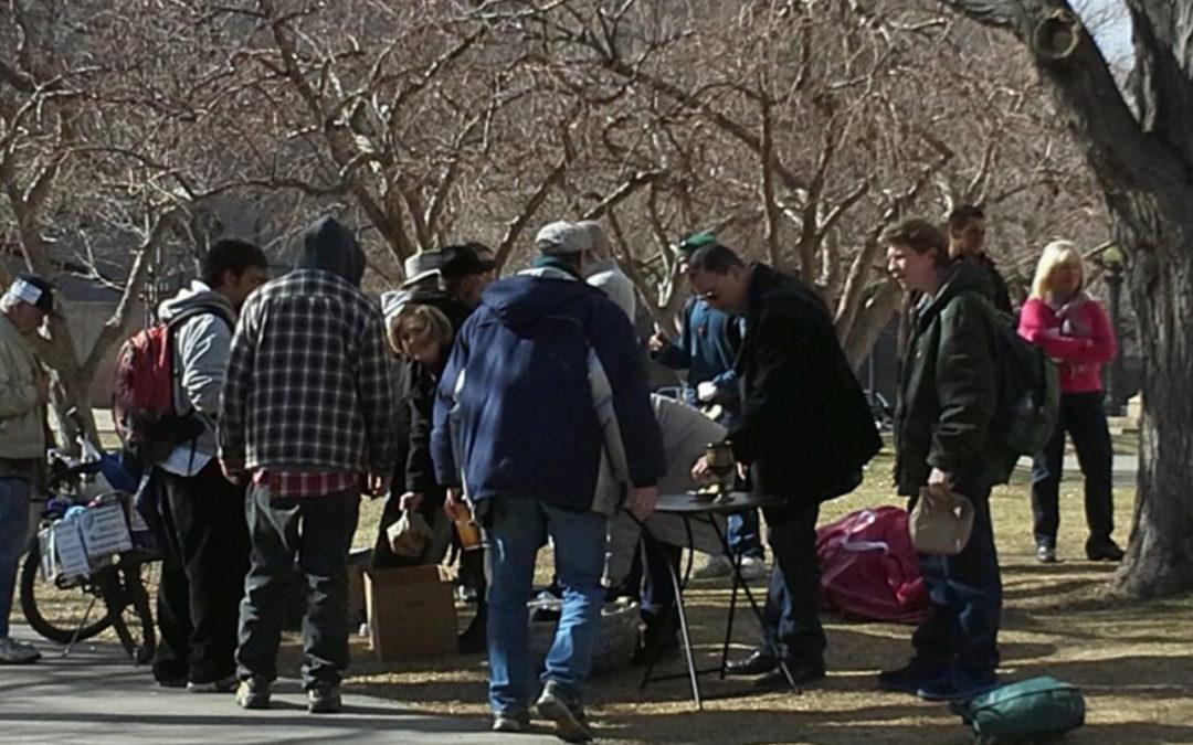 Prayers in the Park: Alum Lauren Grenz Served with Internship