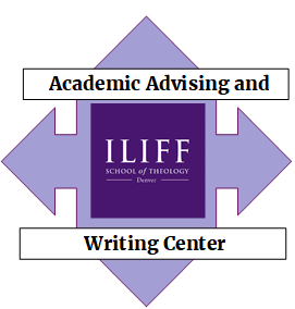 This is the Iliff Writing Lab Logo
