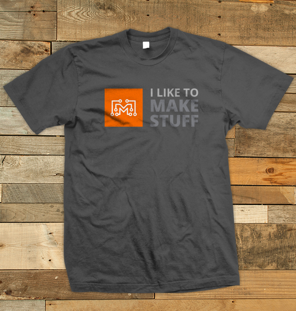 c78d4ca4a49 ILTMS Logo T-Shirt (Grey) - I Like to Make Stuff
