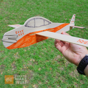 How to make gliders from balsa and styrofoam using the X-Carve - I