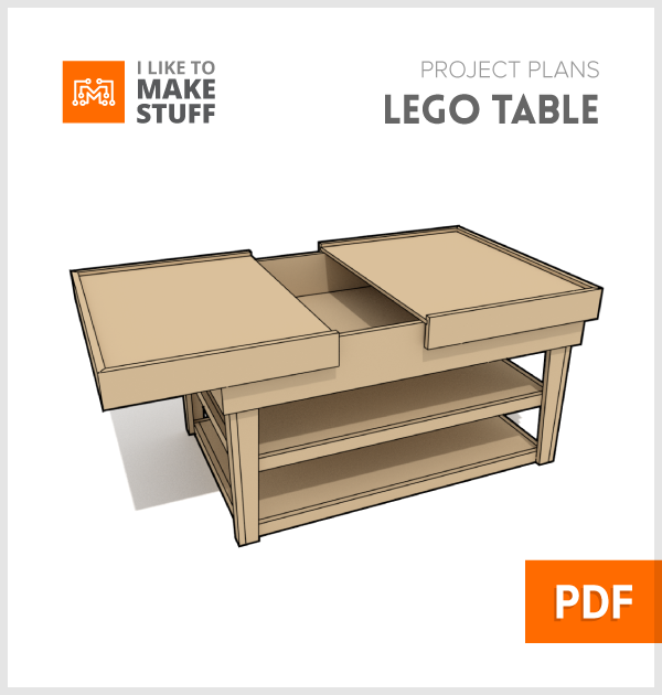 Lego Build Table Digital Plan I Like To Make Stuff