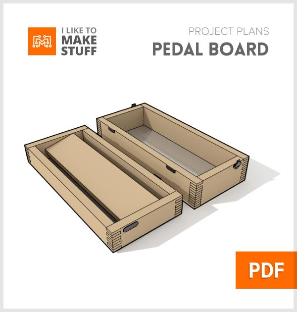 small pedalboard digital plan i like to make stuff. Black Bedroom Furniture Sets. Home Design Ideas