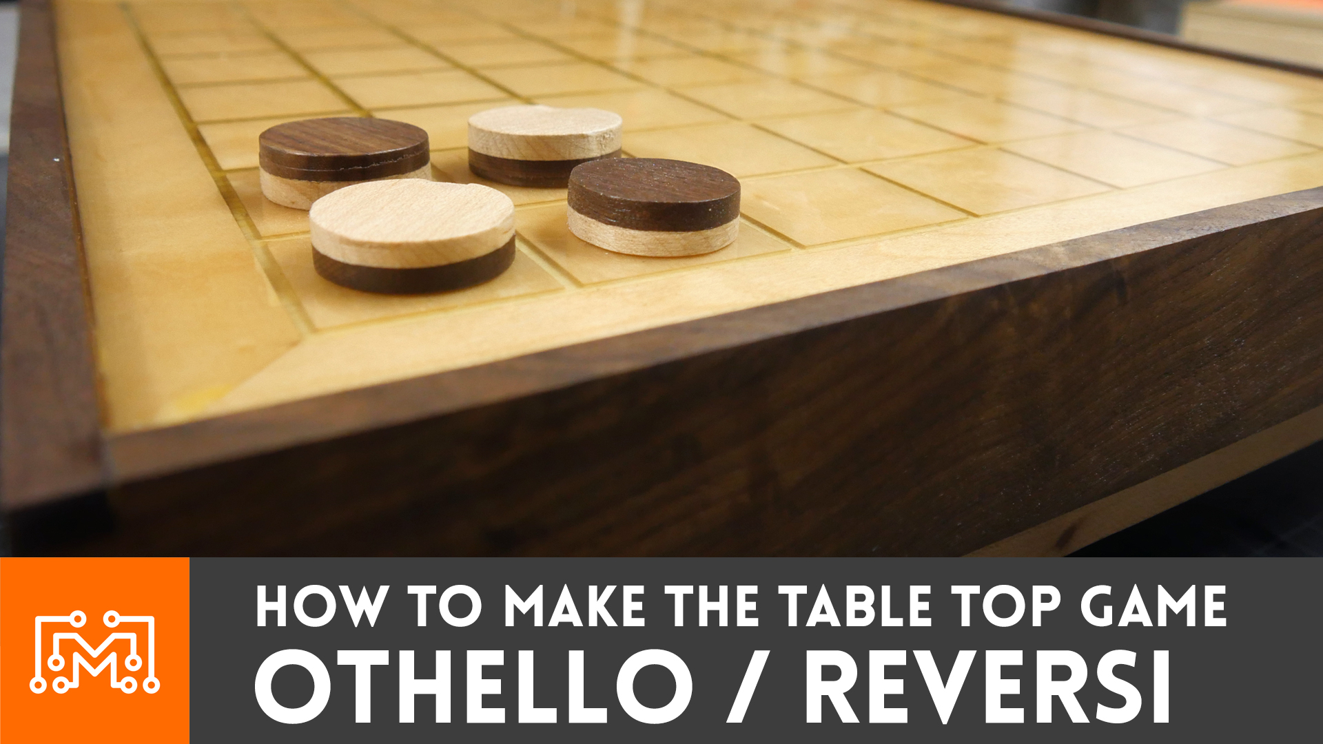 How To Make Othello / Reversi (tabletop Game)