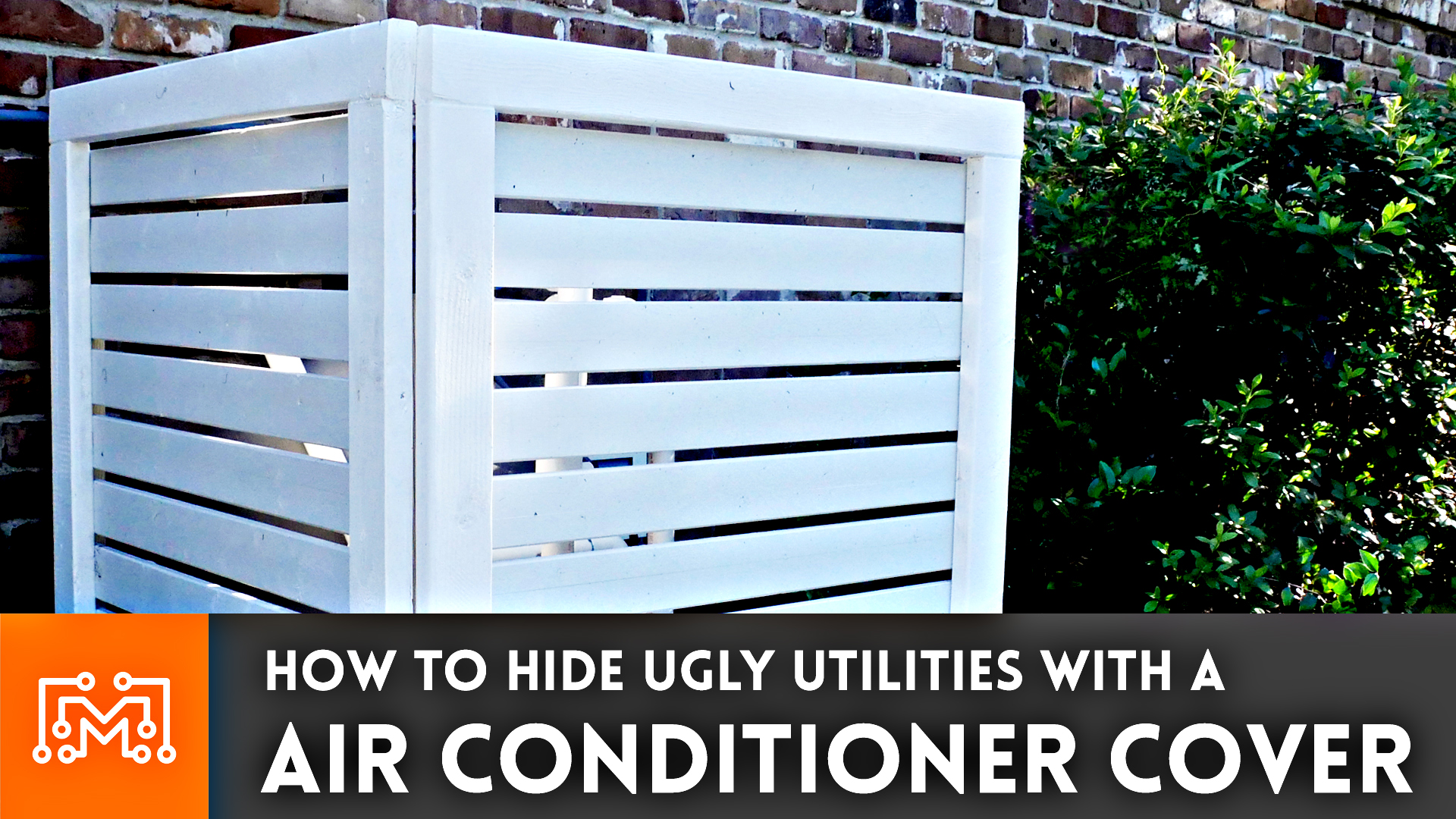Small Air Conditioner Exterior Cover
