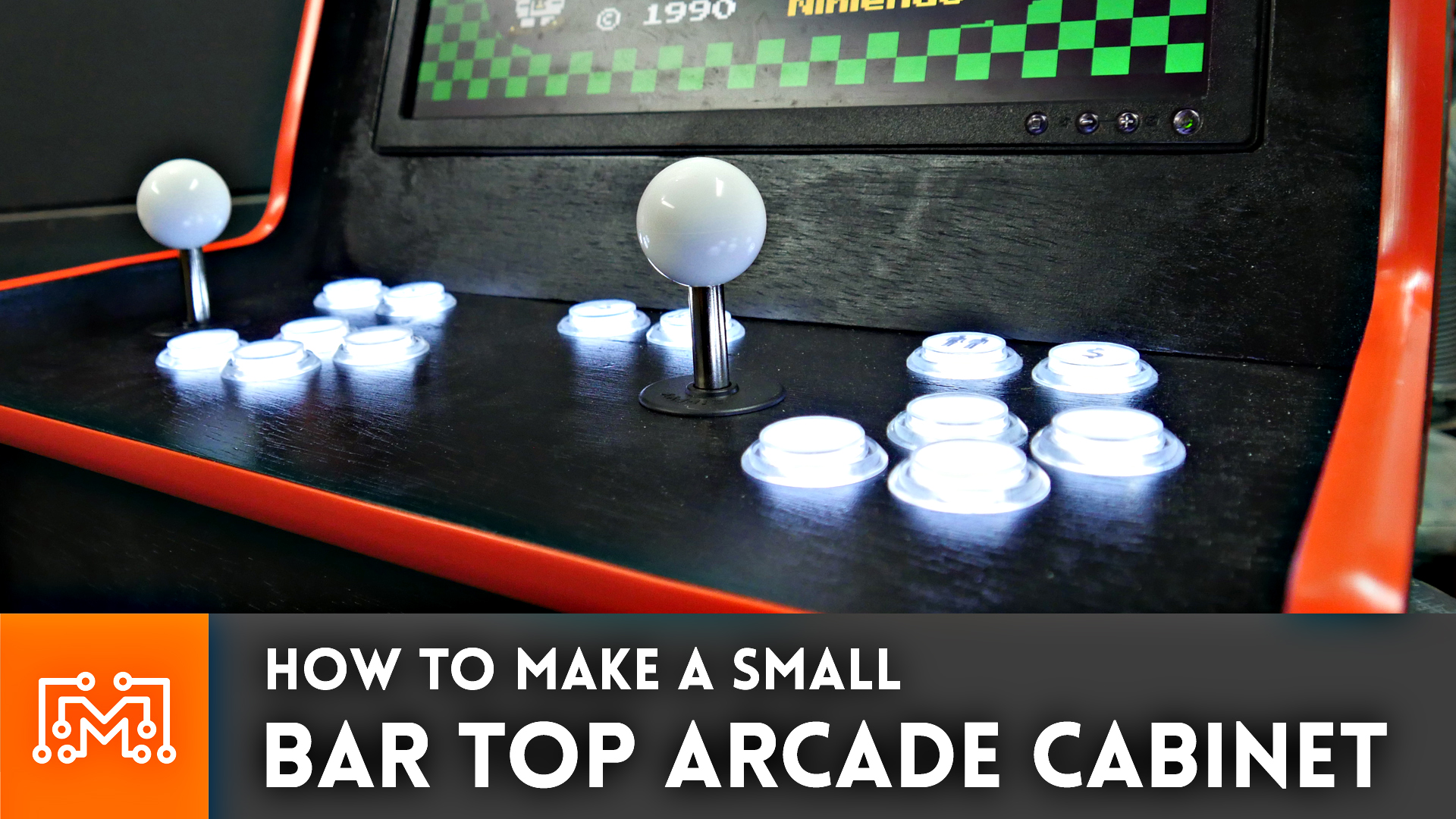 How to make a bar top arcade cabinet i like to make stuff for How to build a bar top