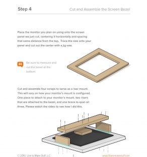 how to make a diy bar top arcade cabinet plans