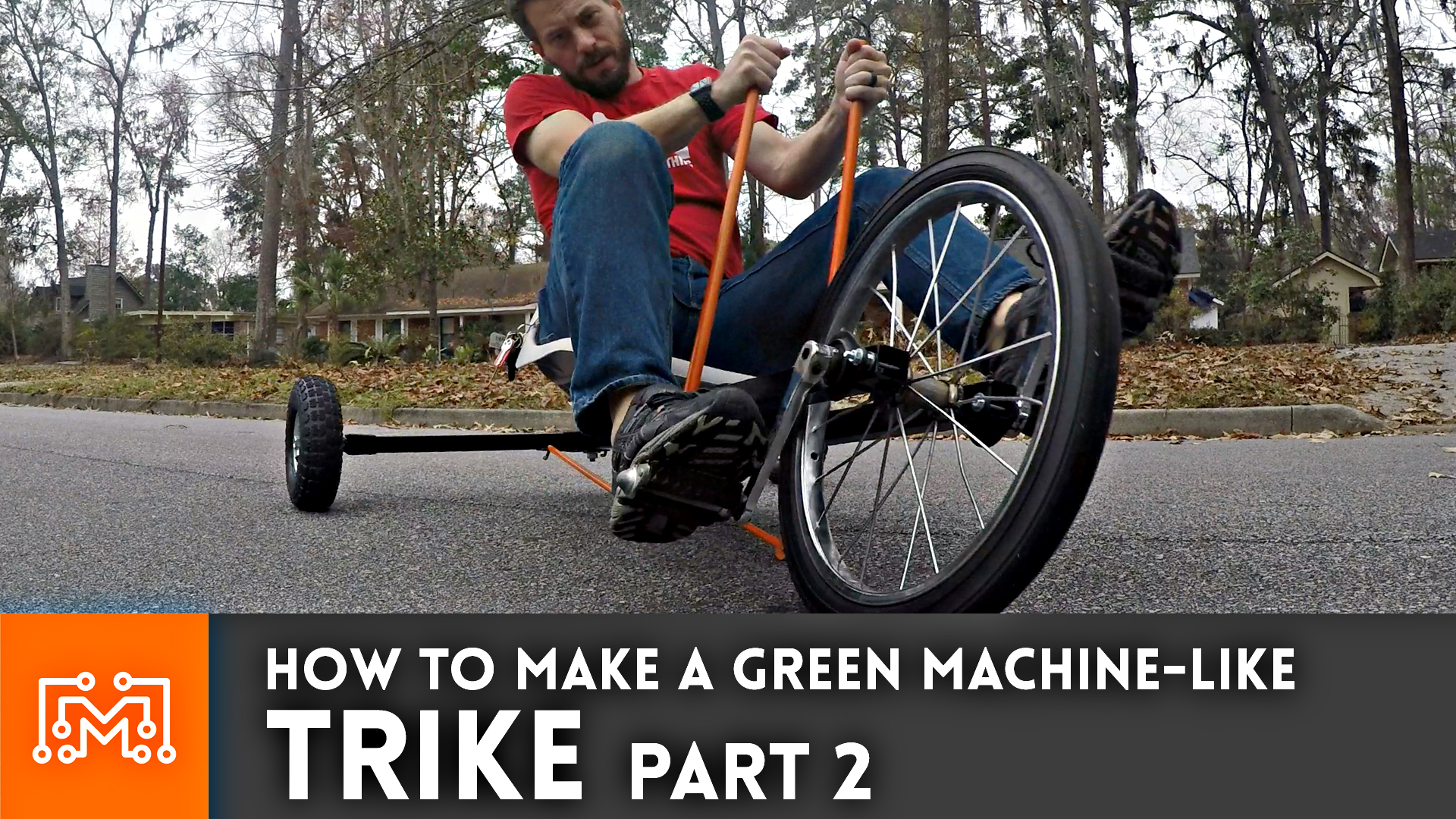 How to make a trike (Green Machine) from junk – Part 2