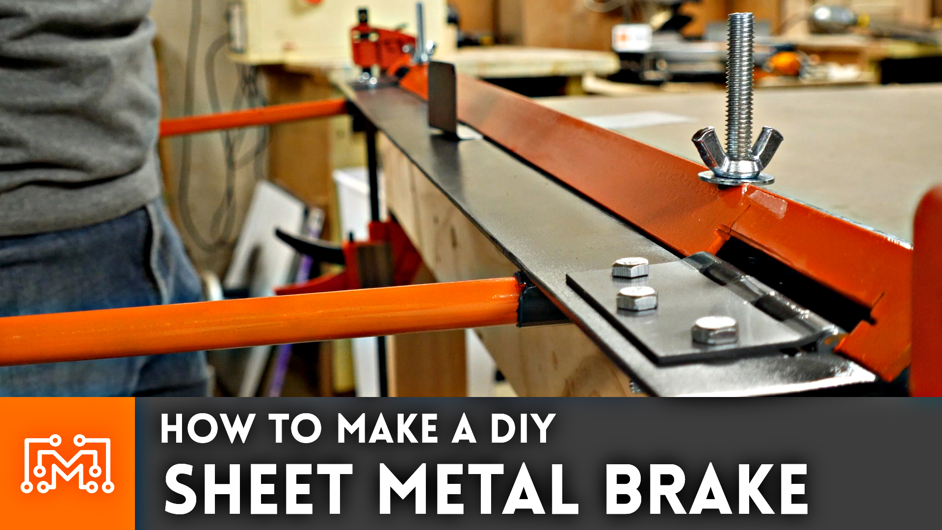 How To Make A Metal Brake For Folding Sheet Metal I