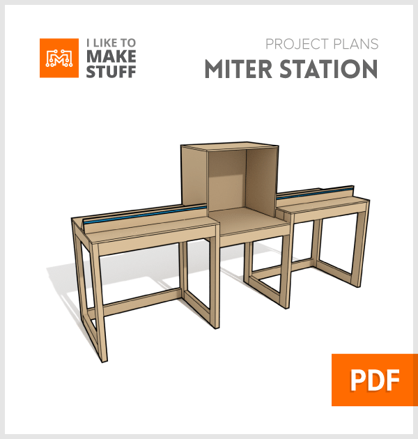 How to make miter saw station stand plans