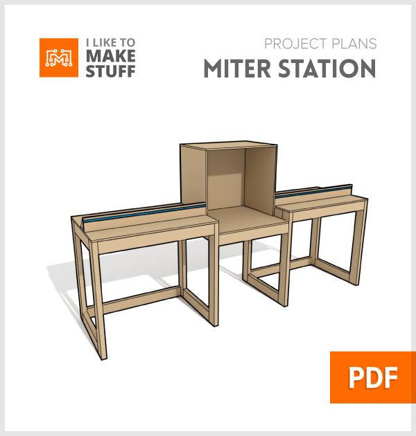 Miter Saw Station Digital Plans