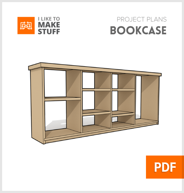 how to make a simple diy wooden adjustable bookcase plans