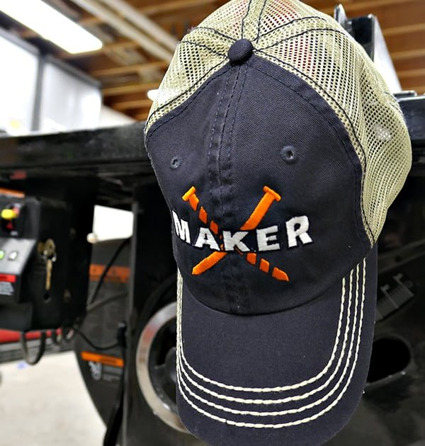 920944b28dd ILTMS Maker Trucker Hat (Navy) - I Like to Make Stuff