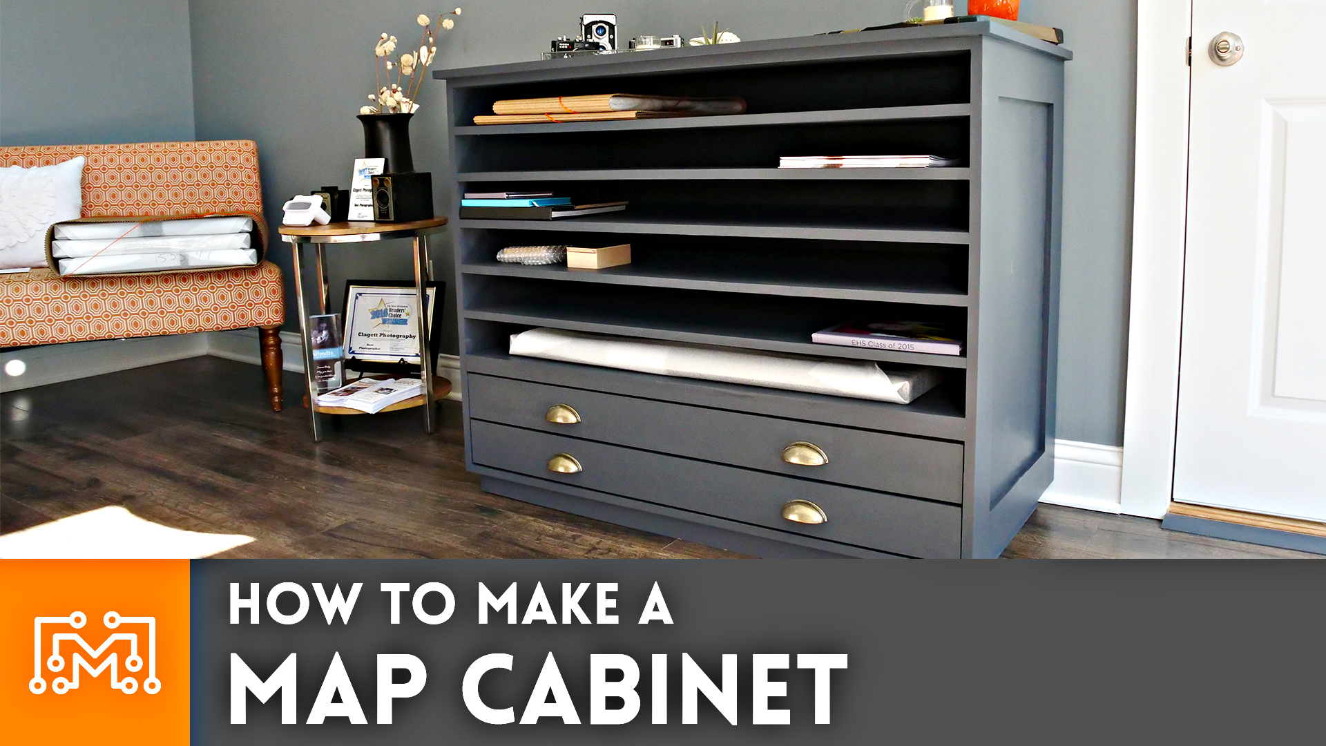 How To Make A Map Cabinet