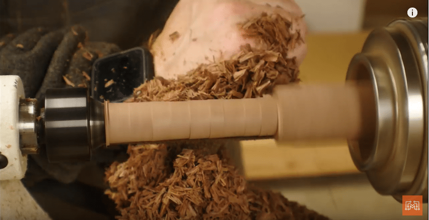 How to Make a Walnut and Brass Coat Rack-Turn the Walnut