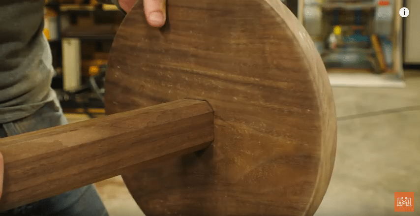 How to Make a Walnut and Brass Coat Rack-Make the Base