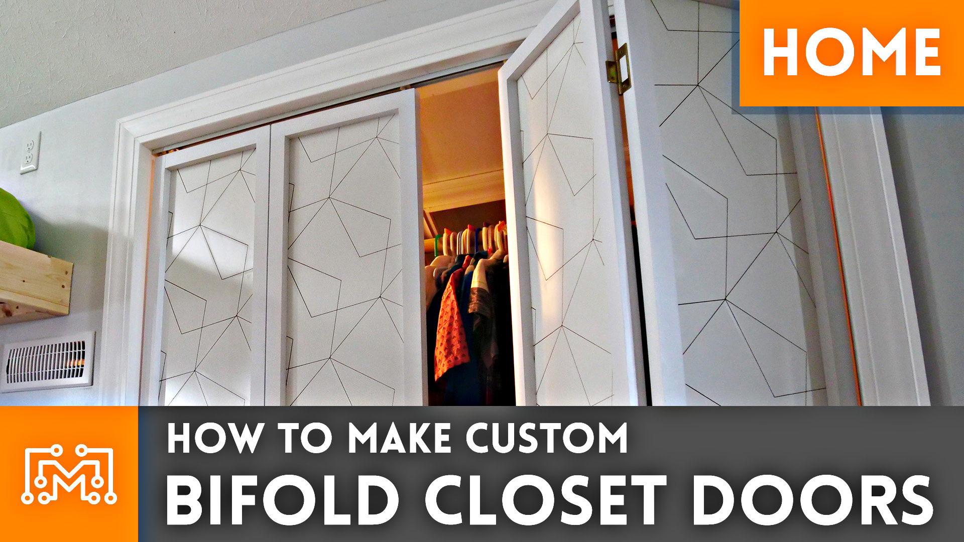 Making Custom Bifold Closet Doors I Like To Make Stuff