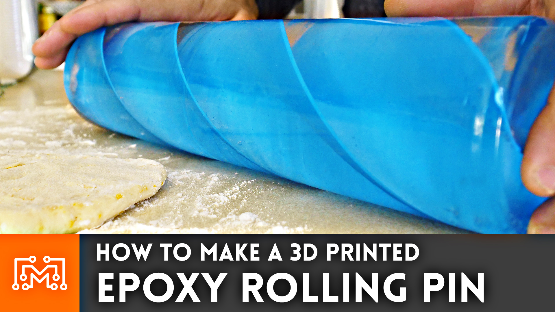 How to Make a 3d Printed Epoxy Rolling Pin - I Like To Make