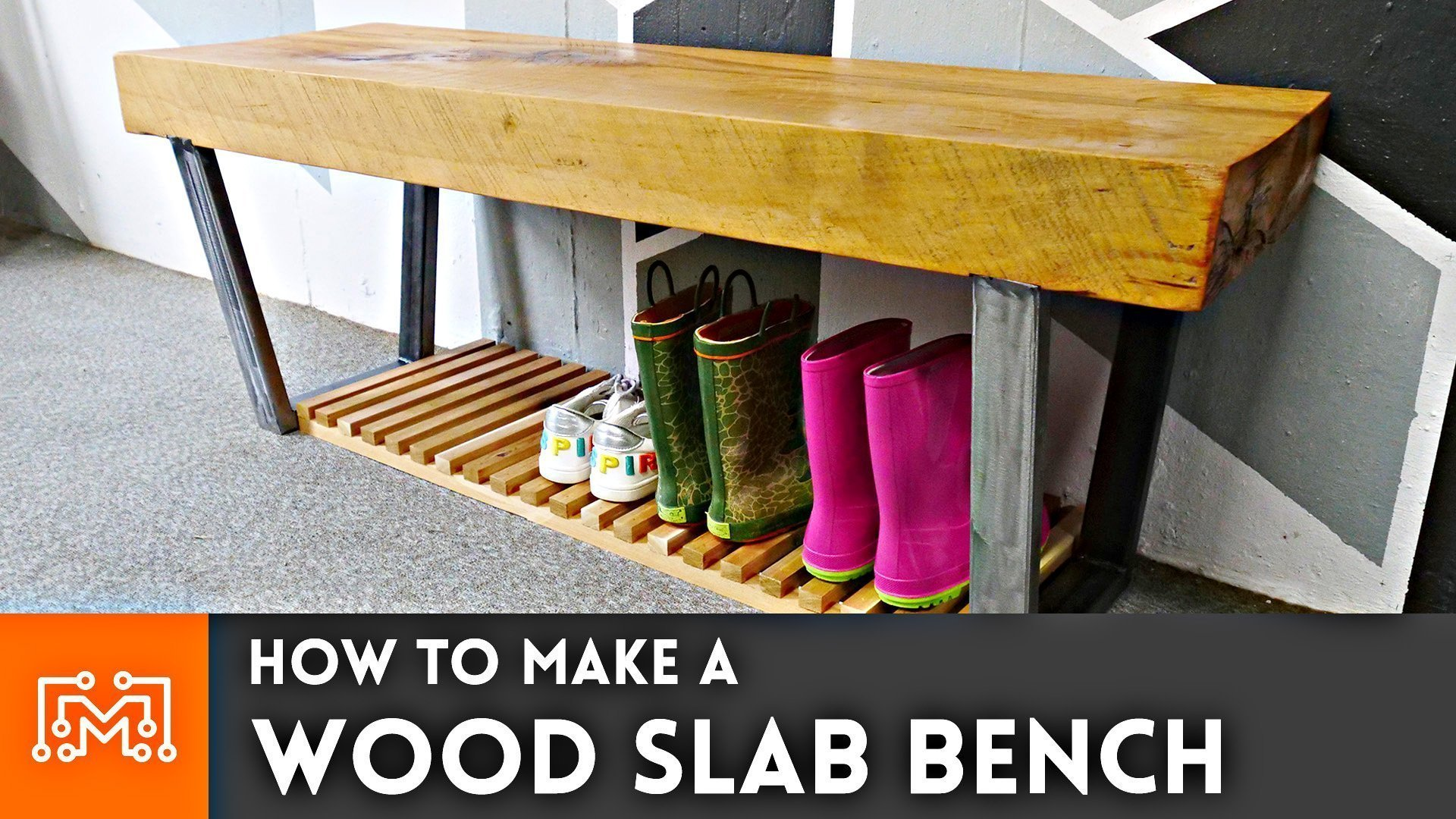 Fantastic How To Make A Wood Slab Bench I Like To Make Stuff Gmtry Best Dining Table And Chair Ideas Images Gmtryco
