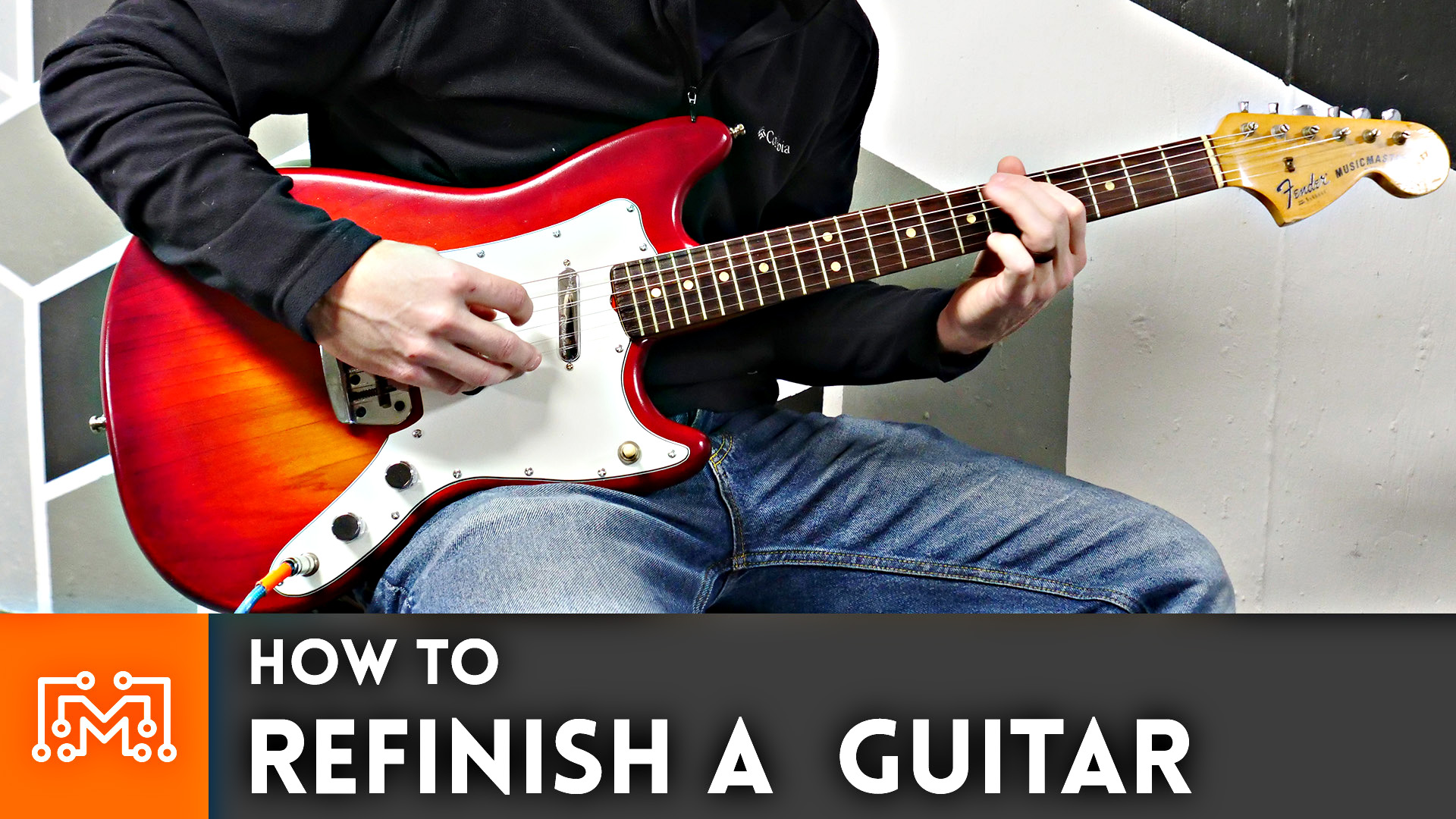 how to refinish a guitar i like to make stuff. Black Bedroom Furniture Sets. Home Design Ideas