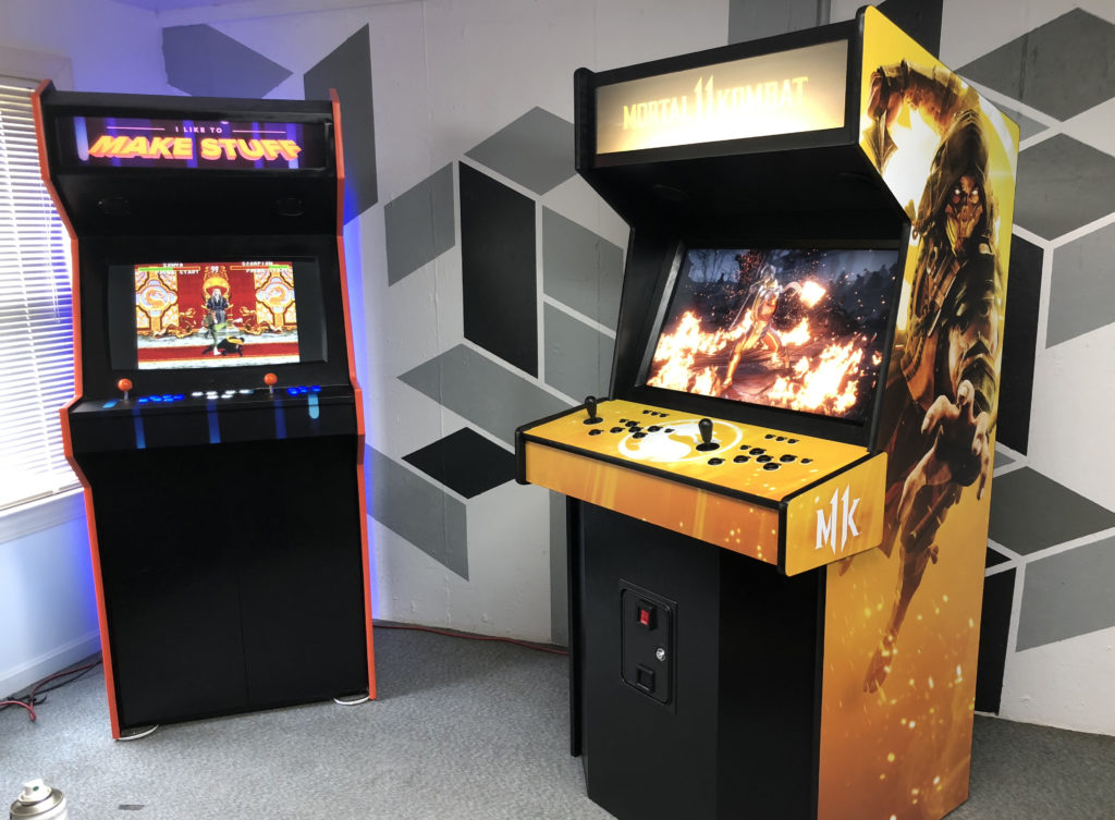 Making An Arcade Cabinet For Mortal Kombat 11 I Like To