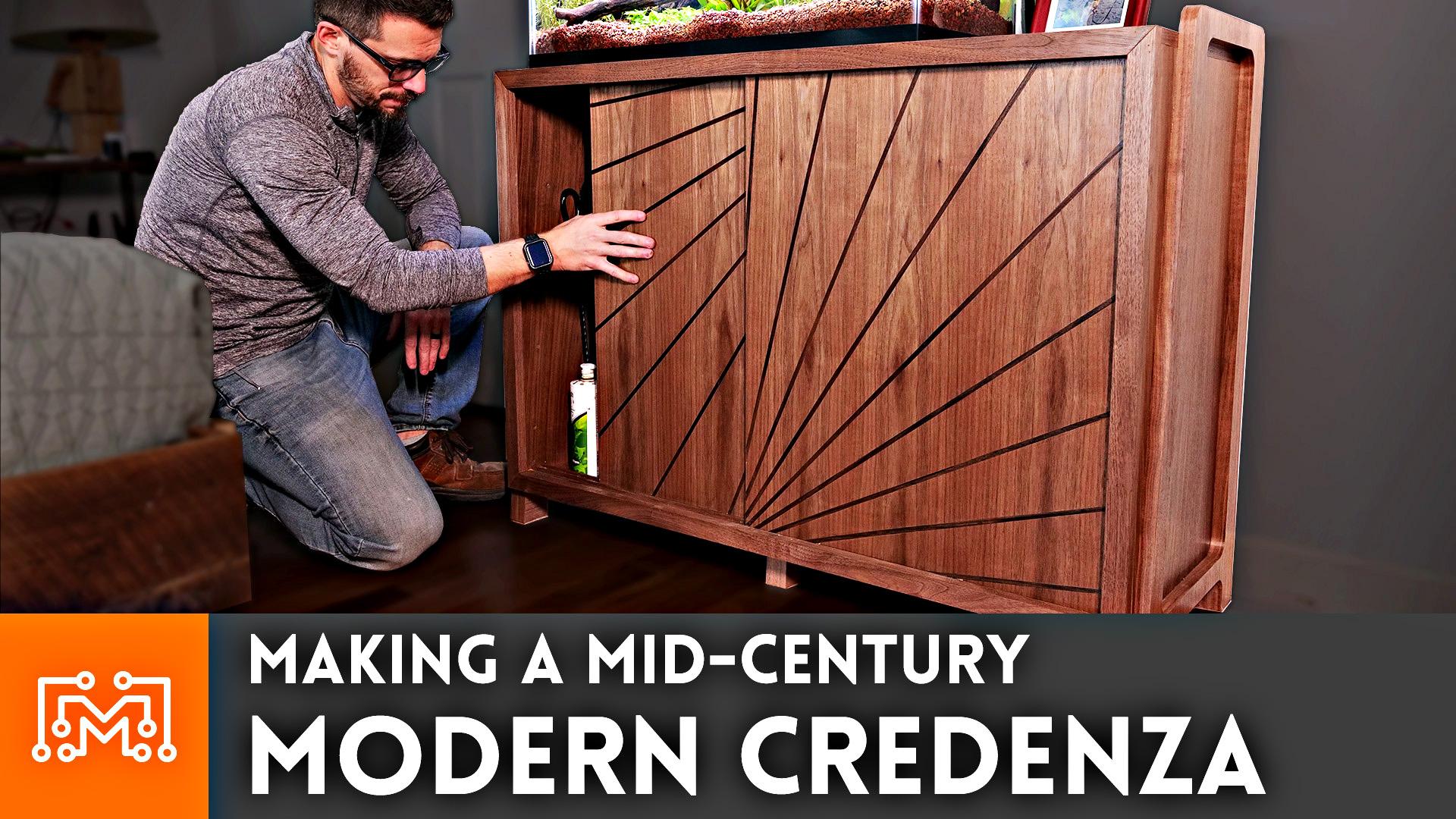 Making A Mid Century Modern Credenza I Like To Make Stuff