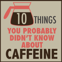 I made a little infographic about 10 facts about caffeine.