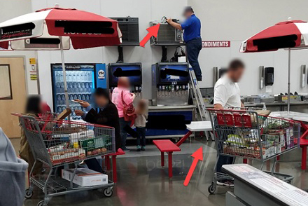 Picture This! Shoe Sales Clerk Should Tread More Carefully