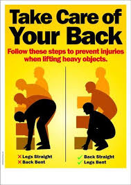 Back Safety and Injury Prevention - SPANISH