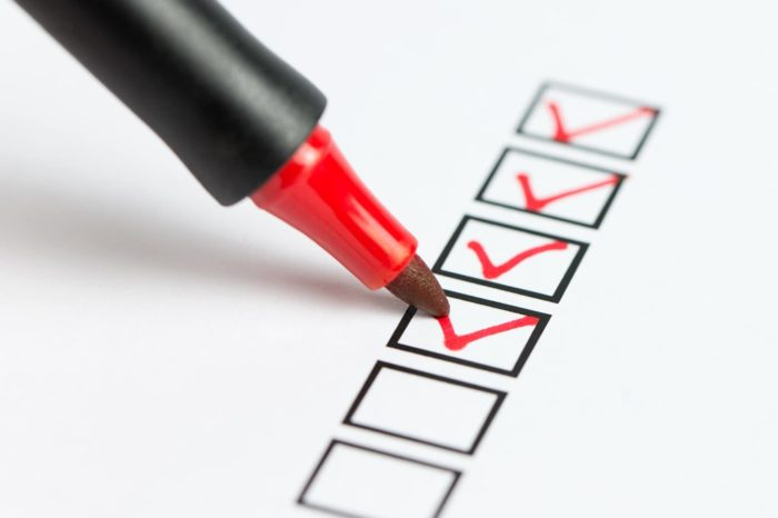 Retail - SAFETY CHECKLIST
