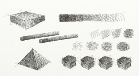 Pencil Shading Elements