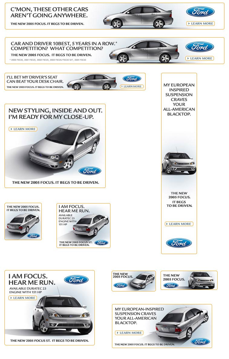 Ford Focus Banners