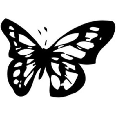 Butterfly_2_black